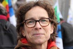 Rachel Scneider, secrétaire départementale du SNUipp-FSU 93/ Crédit : D.R