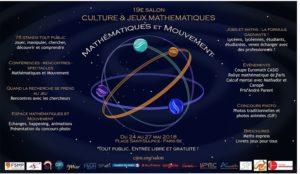 Salon Culture et Jeux mathématiques