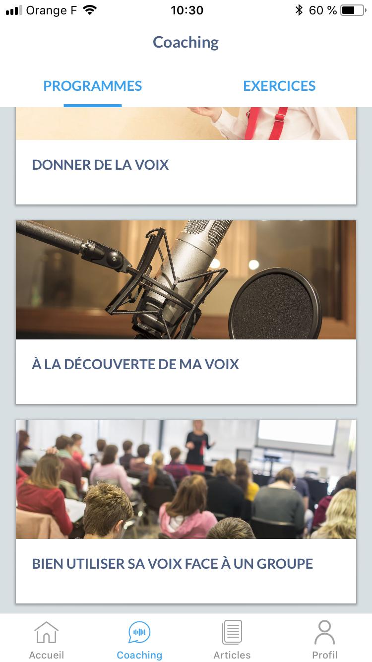 Vocal'IZ : une application gratuite pour prendre soin de sa voix