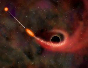 Trou noir / vision d'artiste / M. Weiss/ CXC/ NASA