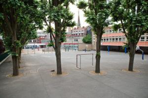 Cour de l'école élémentaire Laurent-de-Bimorel, Rouen / Frédéric Bisson / Licence CC Flickr