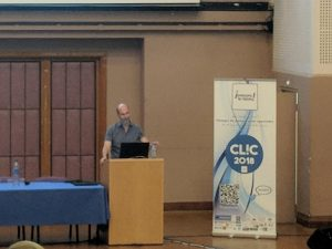 Franck Ramus au CLIC 2018