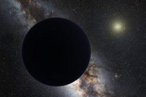 """Vue d'artiste de la """"Planète IX"""" /Caltech/R. Hurt (IPAC)"""
