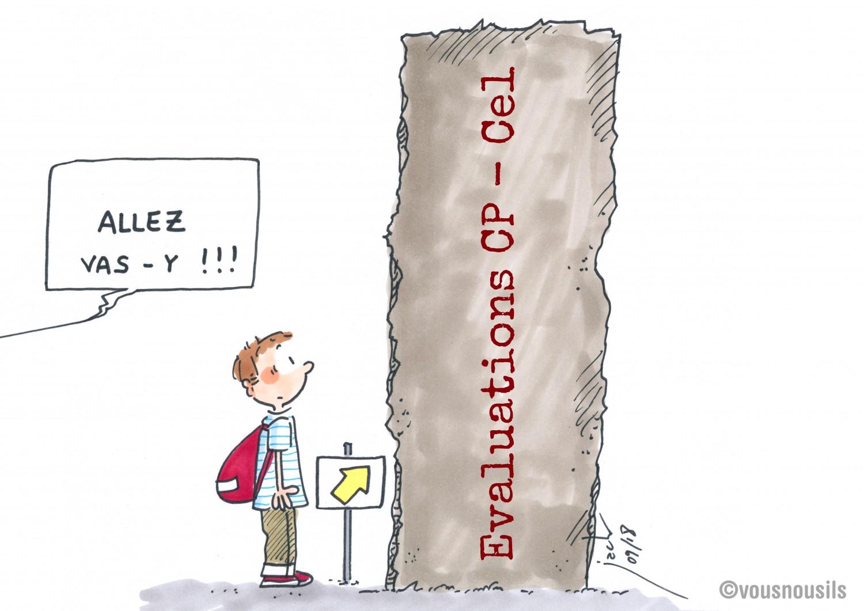 Evaluations de CP-CE1 : va-t-on droit dans le mur ?