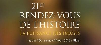 Rendez-vous de l'Histoire de Blois : «L'image n'est jamais une facilité, elle est polysémique»
