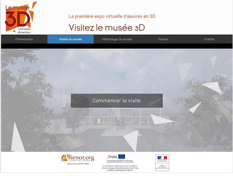 Nouvelle-Aquitaine: le premier musée en 3D de France disponible pour les visiteurs