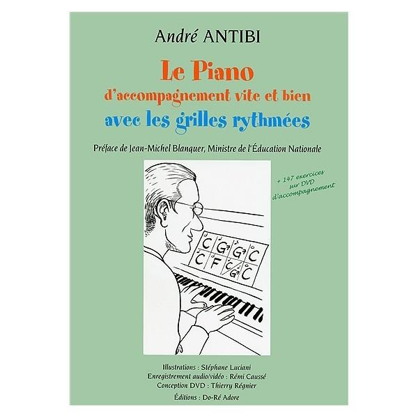 André Antibi: une méthode pour jouer du piano sans connaître le solfège classique