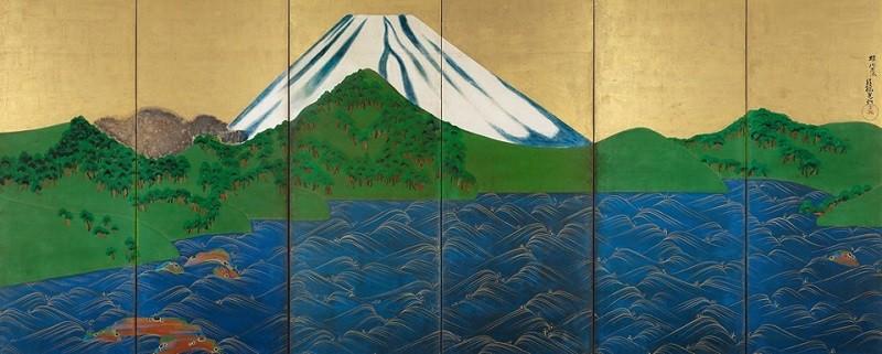"""Résultat de recherche d'images pour """"Trésors de Kyoto, trois siècles de création Rinpa affiche"""""""