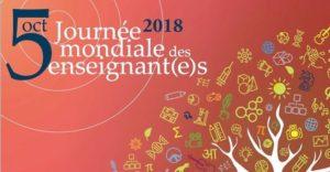 journée mondiale des enseignants 2018