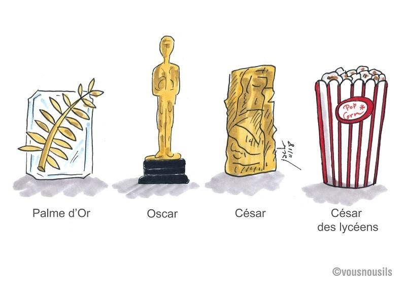 César des lycéens : films et pop-corn à dévorer !