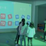 Lü : cours de sport interactif pour faire des maths à l'école