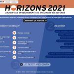 Choix des spécialités en classe de 2nde : l'Onisep lance «Horizons2021»