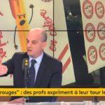 Évaluations des élèves de CP : «la seconde phase d'évaluation sera maintenue» d'après Jean-Michel Blanquer