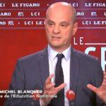 Jean-Michel Blanquer fait le point