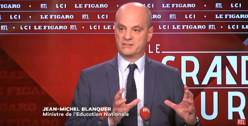 Jean-Michel Blanquer fait le point
