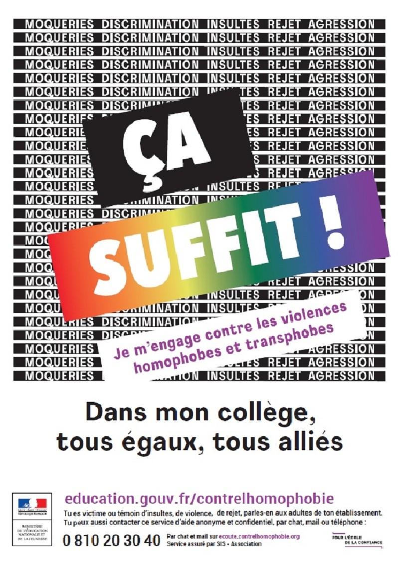 Lancement de la campagne de lutte contre l'homophobie en milieu scolaire