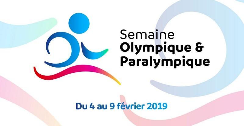 La Semaine olympique et paralympique aura lieu du 4 au 9 février 2019