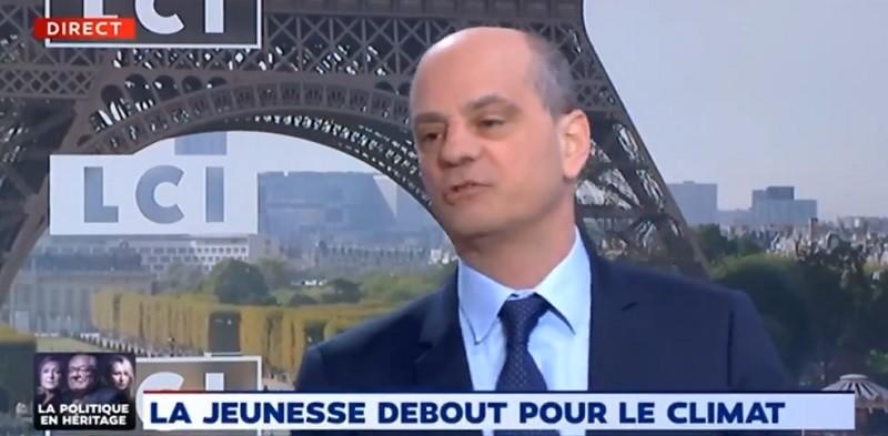 Climat : Jean-Michel Blanquer annonce l'organisation de débats vendredi dans tous les lycées