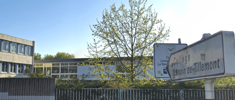 Au collège Lenain de Tillemont de Montreuil, les professeurs revendiquent des moyens supplémentaires