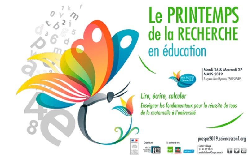 Le Printemps de la recherche en éducation aura lieu les 26 et 27 mars 2019