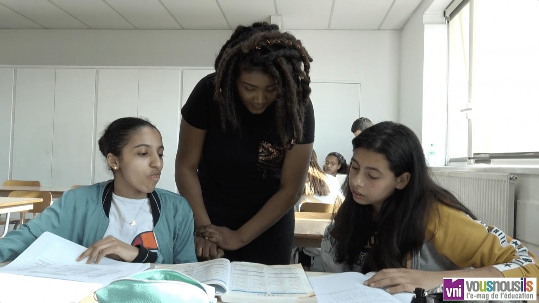 Avec Zup de co, les collégiens font du soutien scolaire dans leur établissement