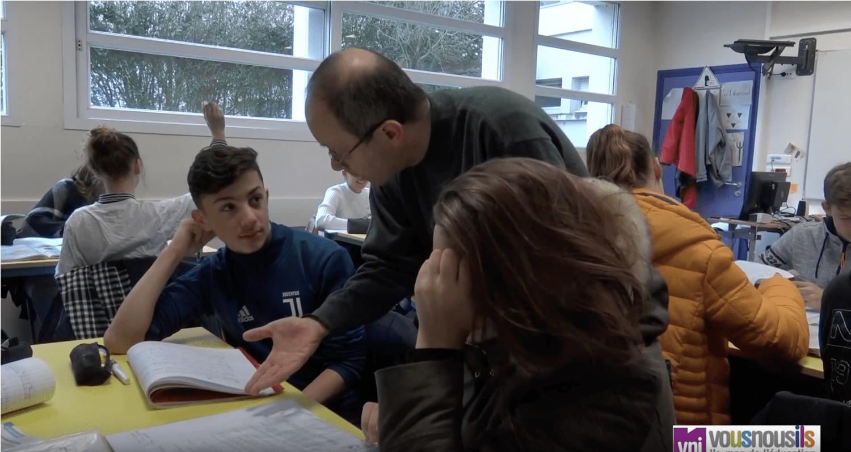 Classe inversée en maths et en histoire-géo : reportage