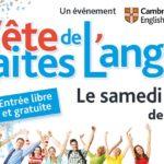 Fête de l'anglais : 1ère édition le 18 mai à Paris !