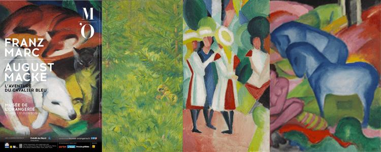 A voir à Paris : l'expo Franz Marc/August Macke au musée de l'Orangerie