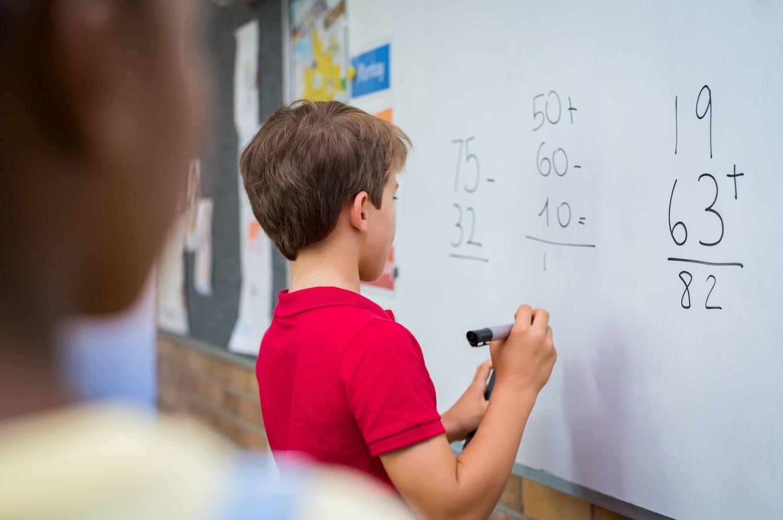 Mathématiques : le niveau des élèves de CM2 en baisse depuis trente ans