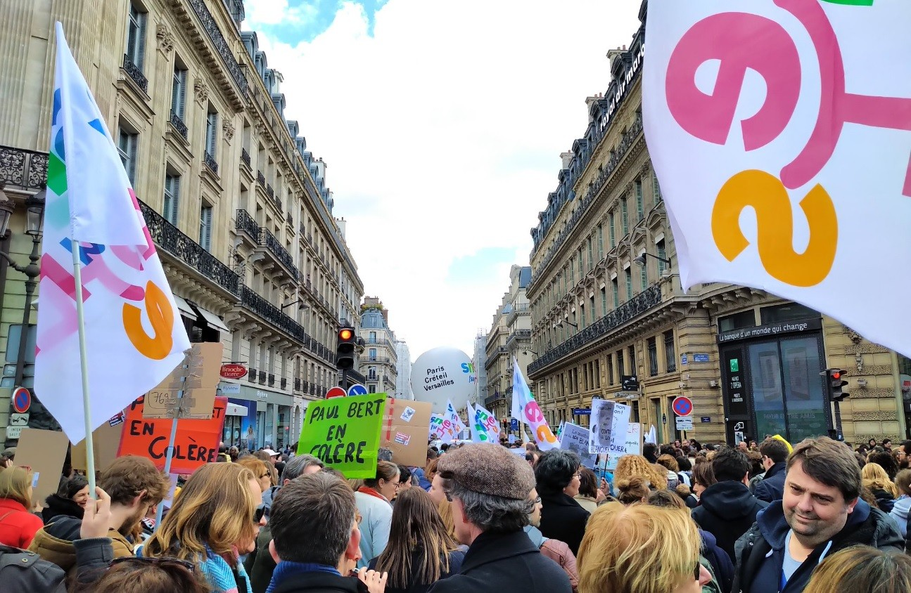 Grève du jeudi 4 avril dans l'enseignement : un succès mitigé