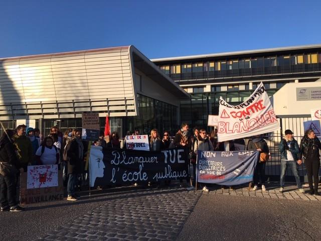 Réforme Blanquer : nouvelle journée de mobilisation