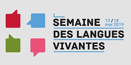 C'est la semaine des langues vivantes !