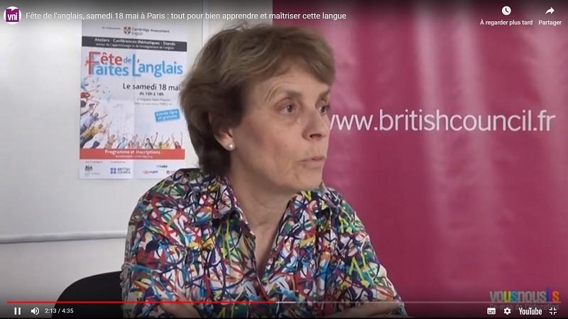 Fête de l'anglais, samedi 18 mai à Paris : tout pour bien apprendre et maîtriser cette langue