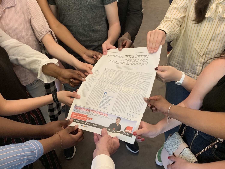 «Sommes-nous vraiment des citoyens Français ?» : des lycéens de Seine-Saint-Denis prennent la parole