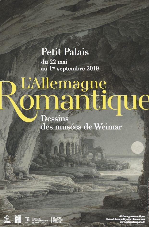 Exposition: l'Allemagne romantique, dessins des musées de Weimar au Petit Palais