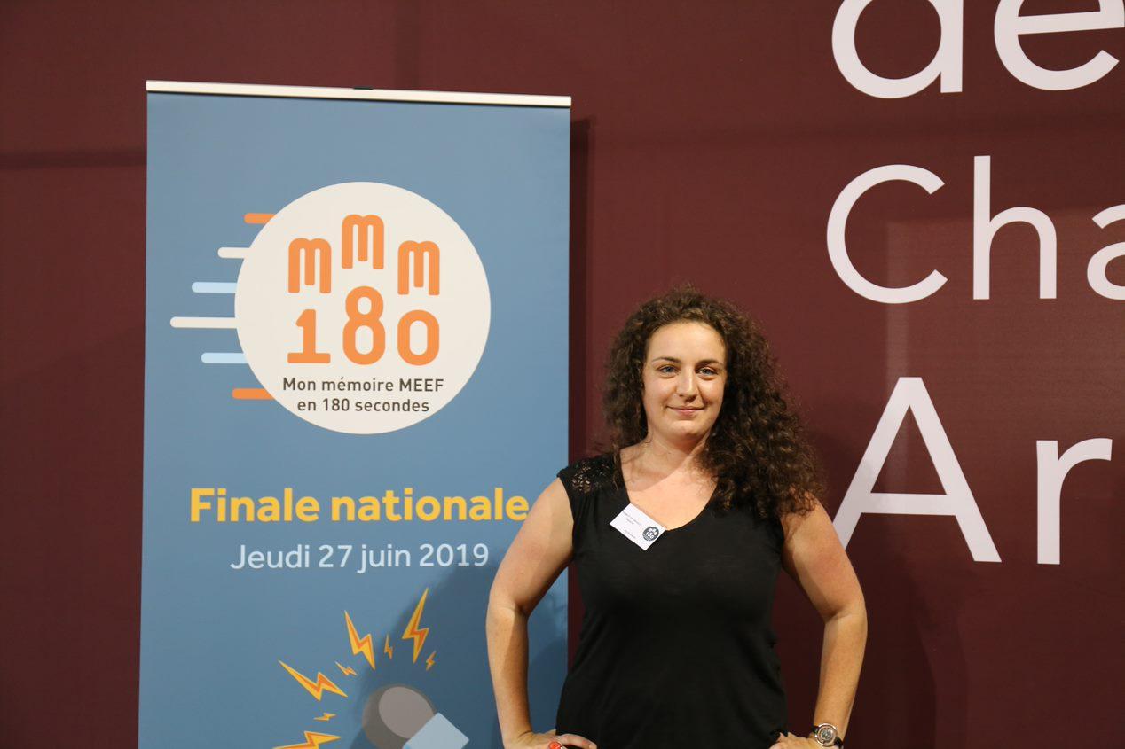 Malaurie Princet, gagnante de MMM180 : «ça me tenait à coeur de valoriser le lycée professionnel»