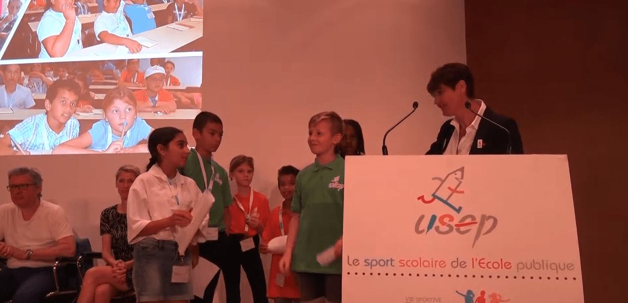 JO 2024 : un Congrès pour sensibiliser les enfants aux valeurs de l'olympisme