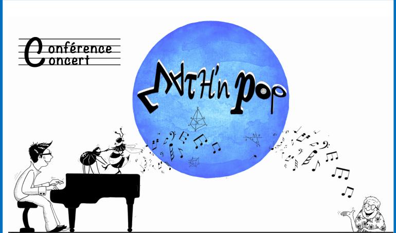 Math'n Pop, le 3 octobre prochain en Sorbonne !
