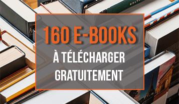 160 e-books à télécharger gratuitement