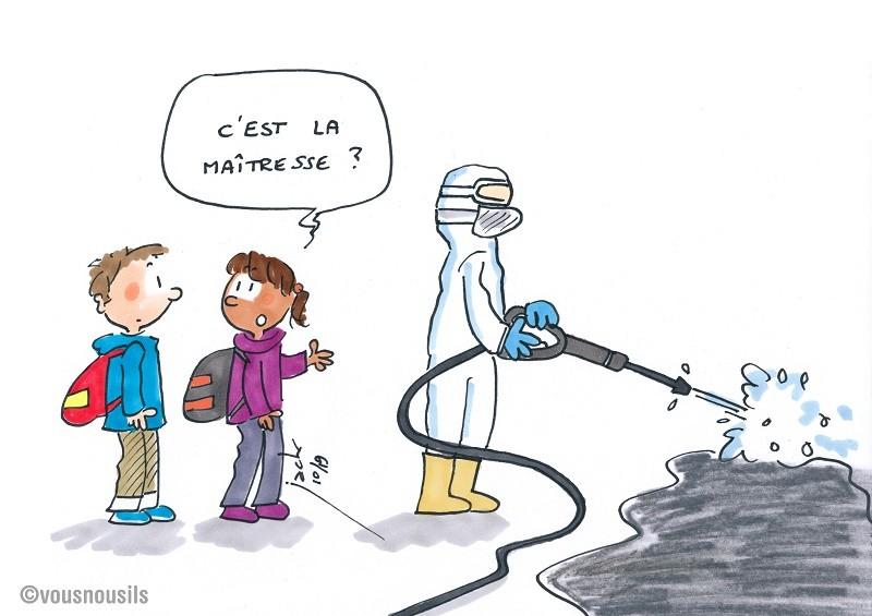 Rouen : un nouveau job pour la maîtresse d'école