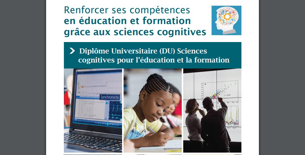 L'INSPE de Créteil crée un DU «Sciences cognitives pour l'éducation et la formation»