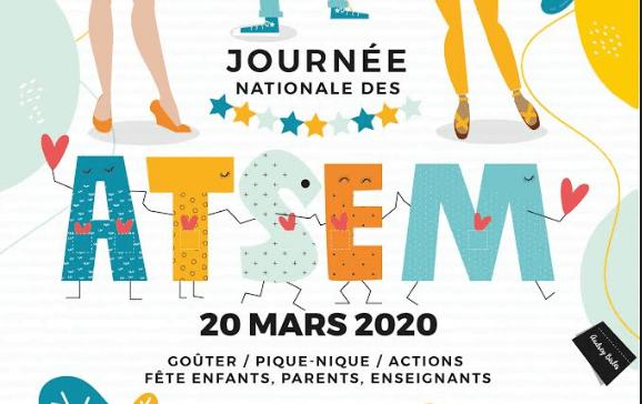 La journée des ATSEM, c'est le 20 mars prochain !