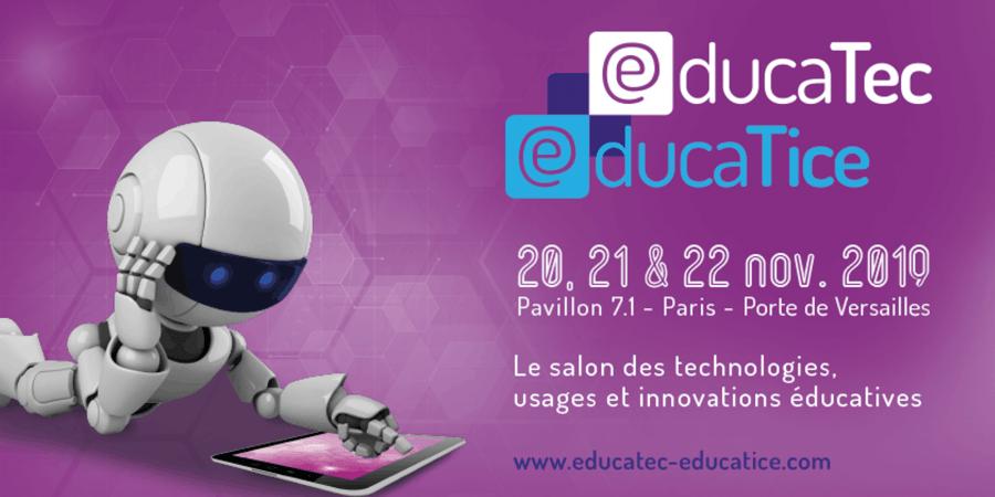 Educatec Educatice 2019 : gestion du stress, classe renversée et réalité virtuelle à l'honneur