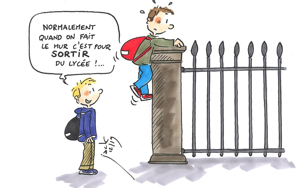 Les lycéens sans affectation au pied du mur ?