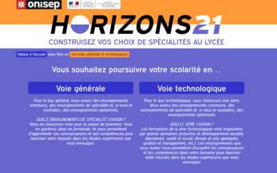 « Horizons 21 », la plateforme pour aider les lycéens à choisir leurs spécialités