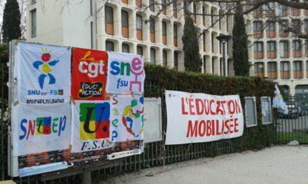 Grèves : Les enseignants de nouveau mobilisés