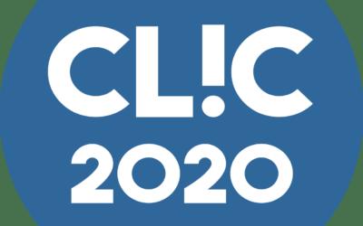 CLIC 2020 : le pré-programme est en ligne !