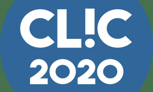 Le CLIC 2020 aura lieu du 30 octobre au 1er novembre… en ligne !
