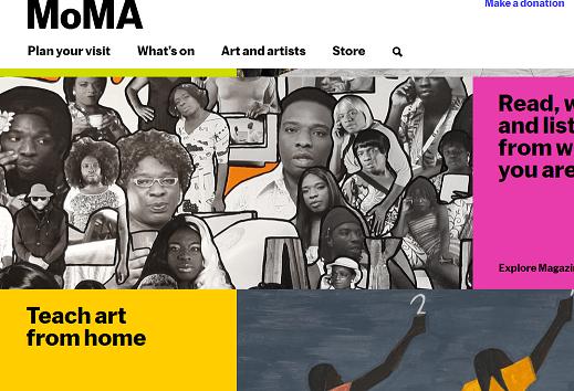 Art moderne : le MoMA propose des cours gratuits !