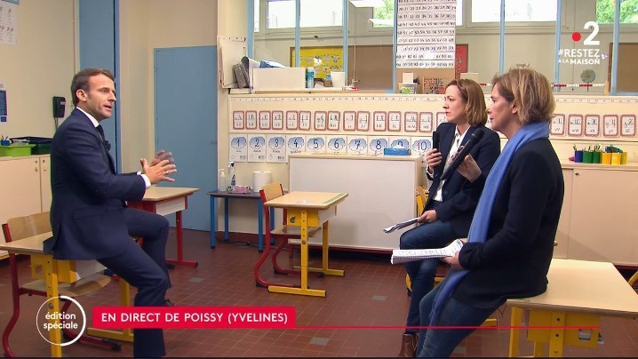 """Emmanuel Macron : """"Je veux plutôt une bonne rentrée qu'une rentrée en nombre"""""""